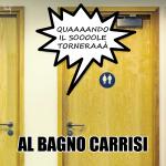 Al bagno Carrisi, Al Bano, calambuh