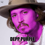 Depp purple, Deep purple, Johnny Depp, calambuh