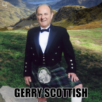 Gerry Scottish, Gerry Scotti, calambuh