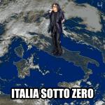 Italia sotto zero, Renato Zero, freddo, calambuh