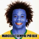Marcelo è sempre più blu, calambuh