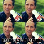 Marii Tozzi con la panna, Mario Tozzi, calambuh