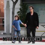 Mi fa male Al Pacino, calambuh